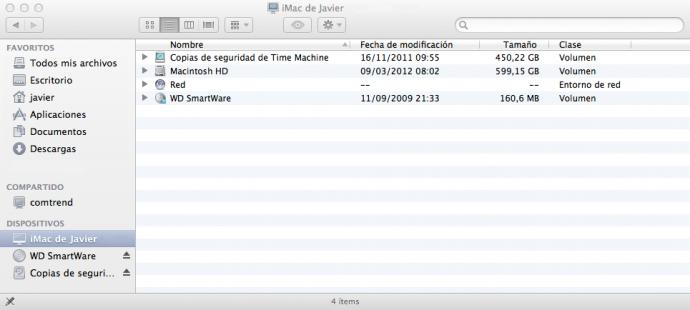 Buscador MacOS