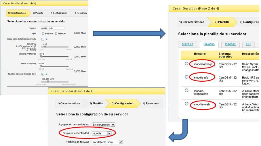 Crear servidor CloudBuilder ®