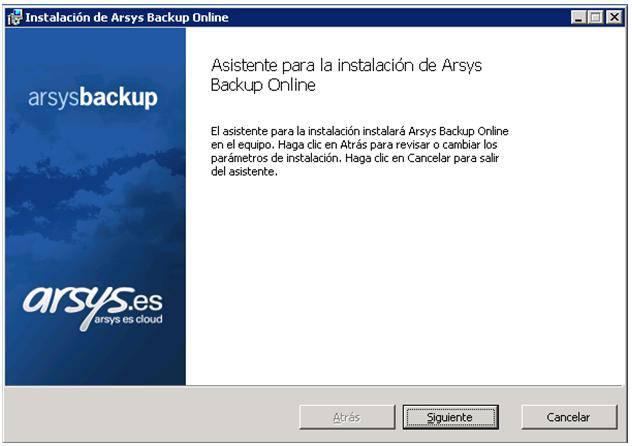 pantalla1-Arsys-backup-online