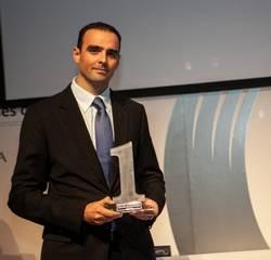 Juanjo García Cabrera, Director de Grandes Cuentas de arsys, recogió el premio iForum