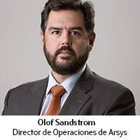 Olof Sandstrom. Director de Operaciones de Arsys