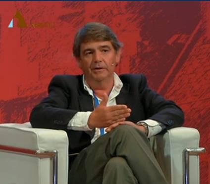 Faustino Jiménez, CEO de arsys, durante su intervención. IMAGEN: siremedia.net/AMETIC