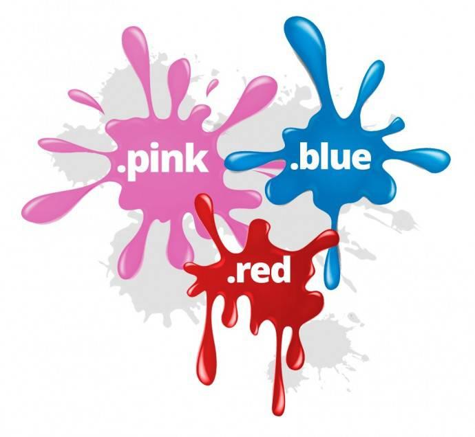 Los nuevos dominios llenan la Red de color