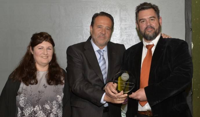 Olof Sandstrom recoge el premio a la Innovación en el CPD
