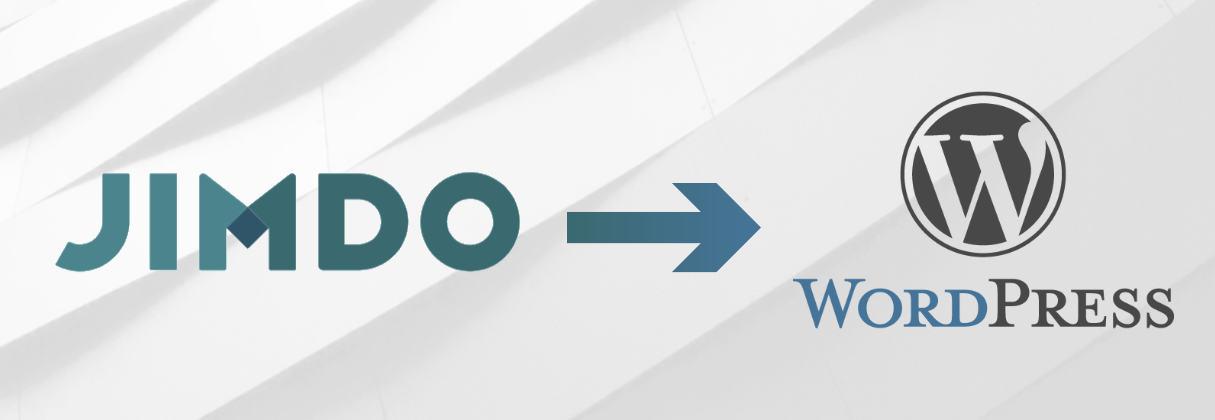 Cómo migrar desde Jimdo a WordPress