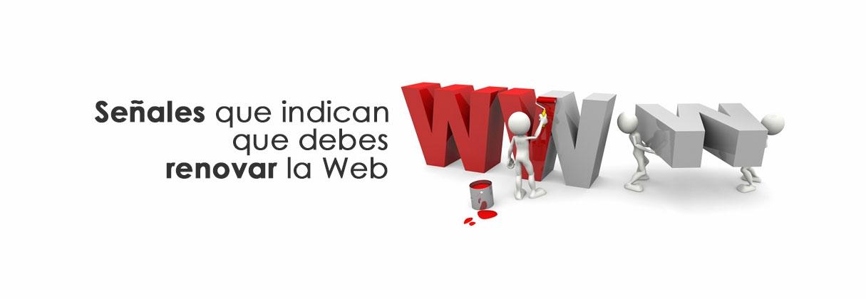 Señales que indican que debemos renovar la página Web