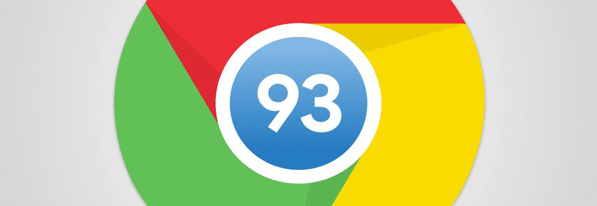 Novedades de Google Chrome 93