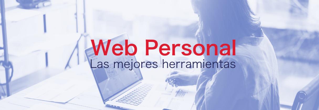 Páginas webs personales, bien hechas por favor