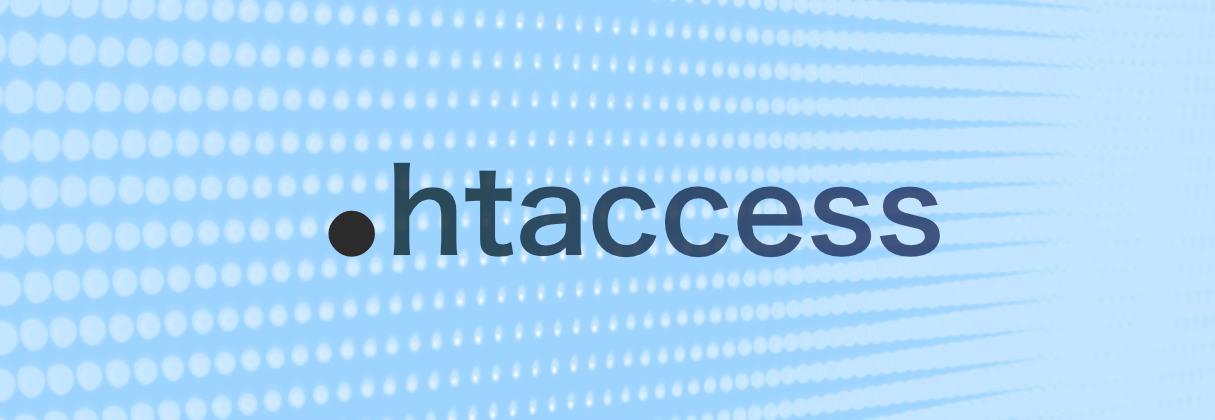 Qué es .htaccess